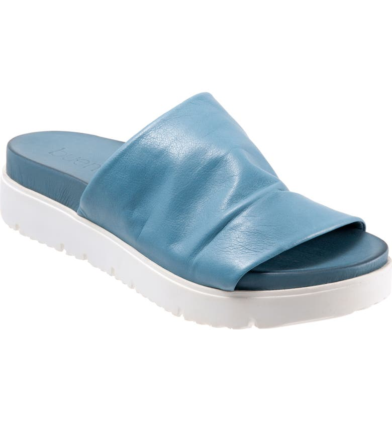 BUENO Splash Slide Sandal, Main, color, DENIM LEATHER