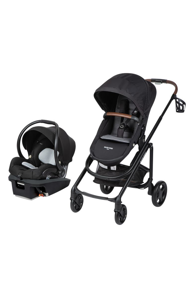 MAXI-COSI<SUP>®</SUP> Mico XP Infant Car Seat & Tayla Stroller Travel System, Main, color, ESSENTIAL BLACK