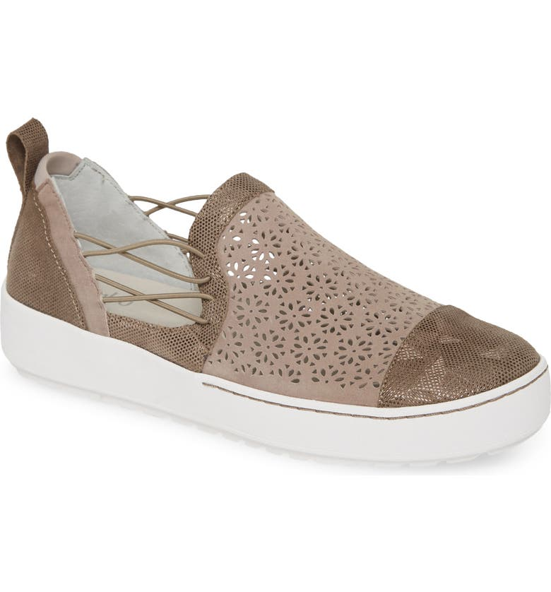 JAMBU Erin Sneaker, Main, color, TAUPE LEATHER