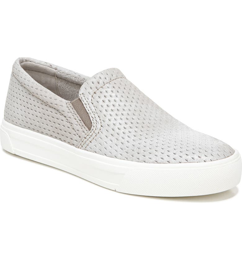 NATURALIZER Aileen Slip-On Sneaker, Main, color, MINERAL TAUPE LEATHER