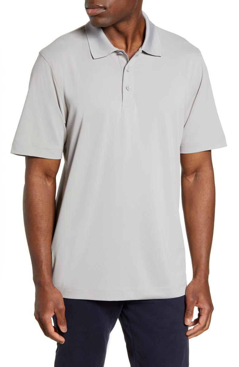CUTTER & BUCK Forge DryTec Solid Performance Polo, Main, color, POLISHED