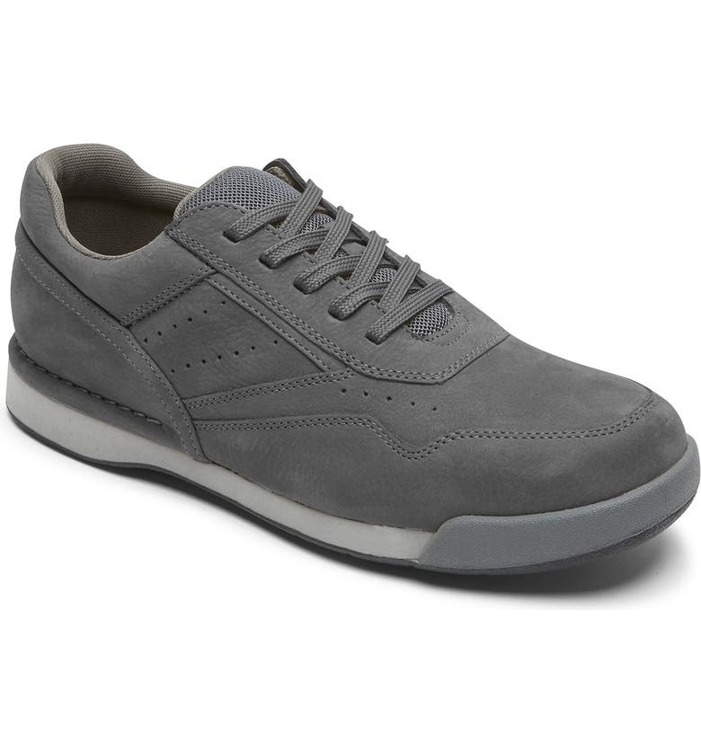 ROCKPORT M7100 Prowalker Sneaker, Main, color, CASTLEROCK NUBUCK LEATHER