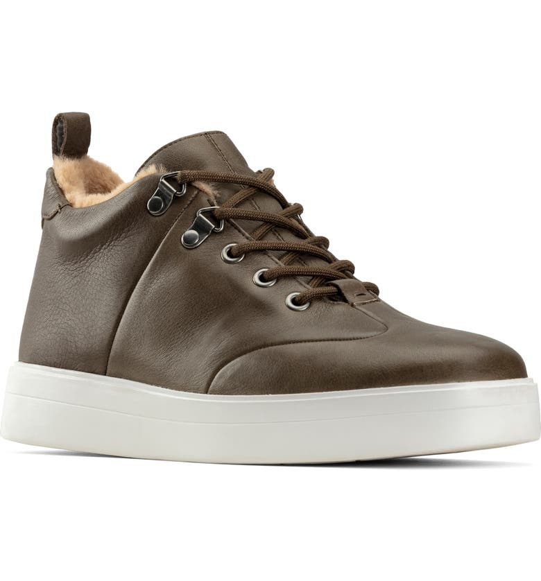 CLARKS<SUP>®</SUP> Hero Hiker Sneaker, Main, color, ARMY LEATHER