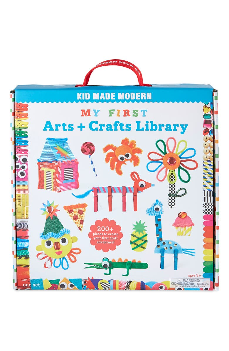KID MADE MODERN My First Arts & Crafts Library, Main, color, 960