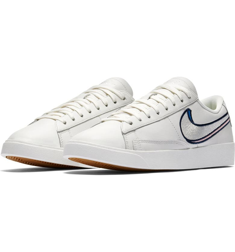 NIKE Blazer Low LX Sneaker, Main, color, 100