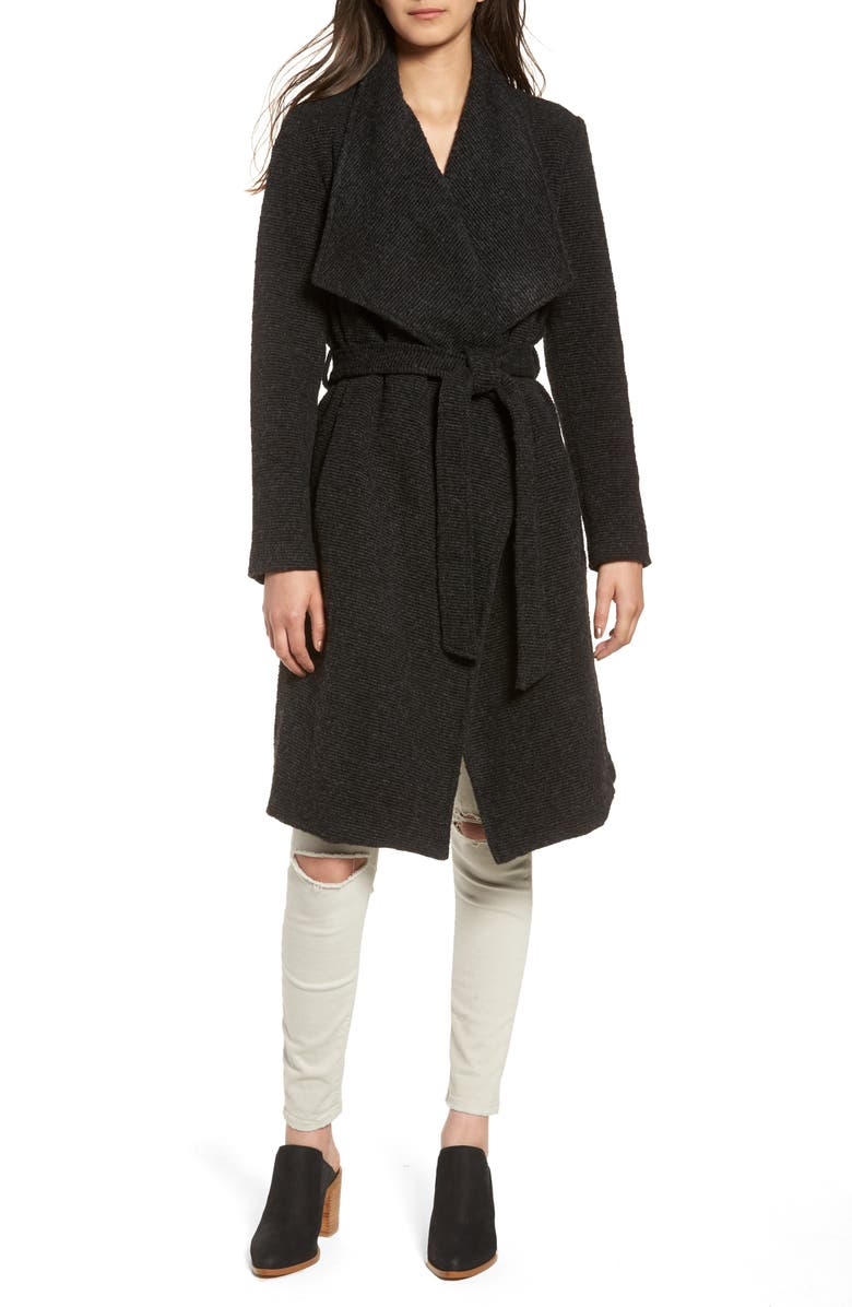 BB DAKOTA Issac Ribbed Blanket Coat, Main, color, 025