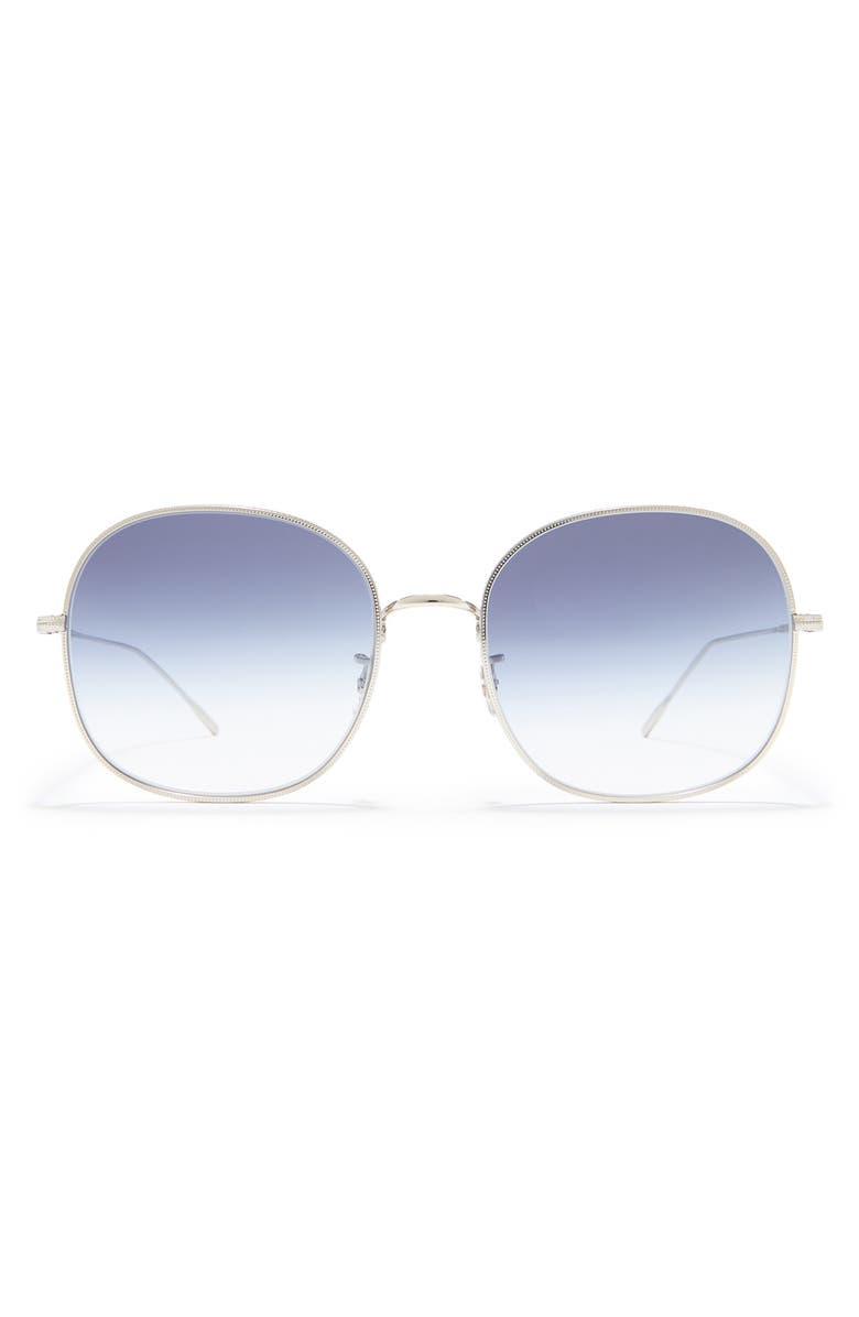 OLIVER PEOPLES Mehrie 57mm Gradient Round Sunglasses, Main, color, 040