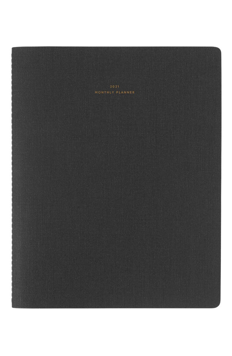 APPOINTED 2021 Monthly Planner, Main, color, CHARCOAL GRAY