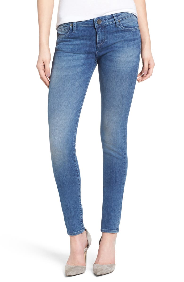KUT FROM THE KLOTH Mia Stretch Skinny Jeans, Main, color, INGENIOUS