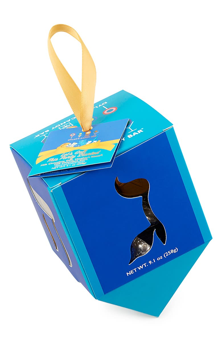 DYLAN'S CANDY BAR 2-Pack Dreidel Chocolate Box, Main, color, 400