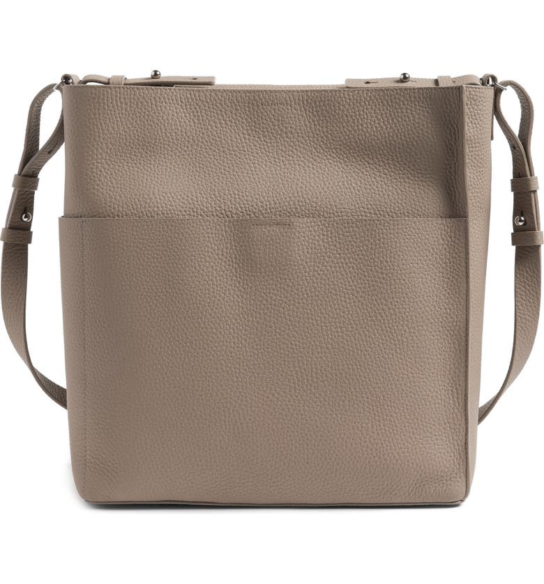 ALLSAINTS Mast Shoulder Tote, Main, color, 080
