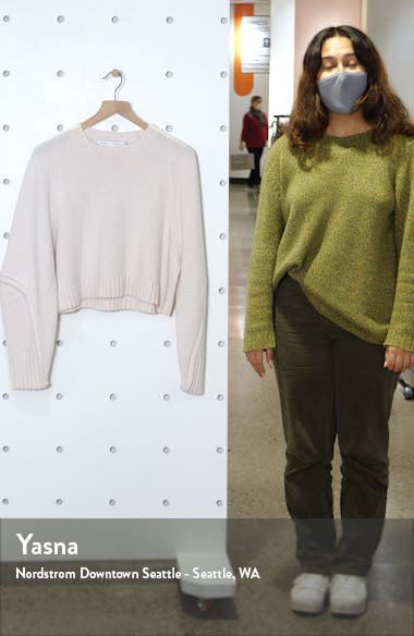 Crop Wool & Cashmere Sweater, sales video thumbnail