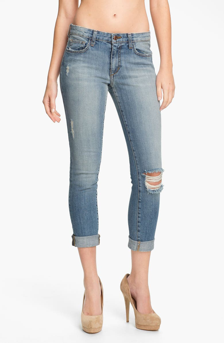 JOE'S Rolled Skinny Ankle Jeans, Main, color, COOPER