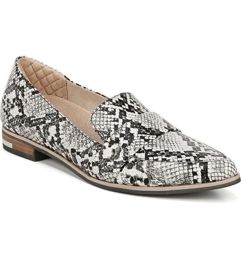 DR. SCHOLL'S Faxon Loafer, Main, color, SNAKE PRINT LEATHER