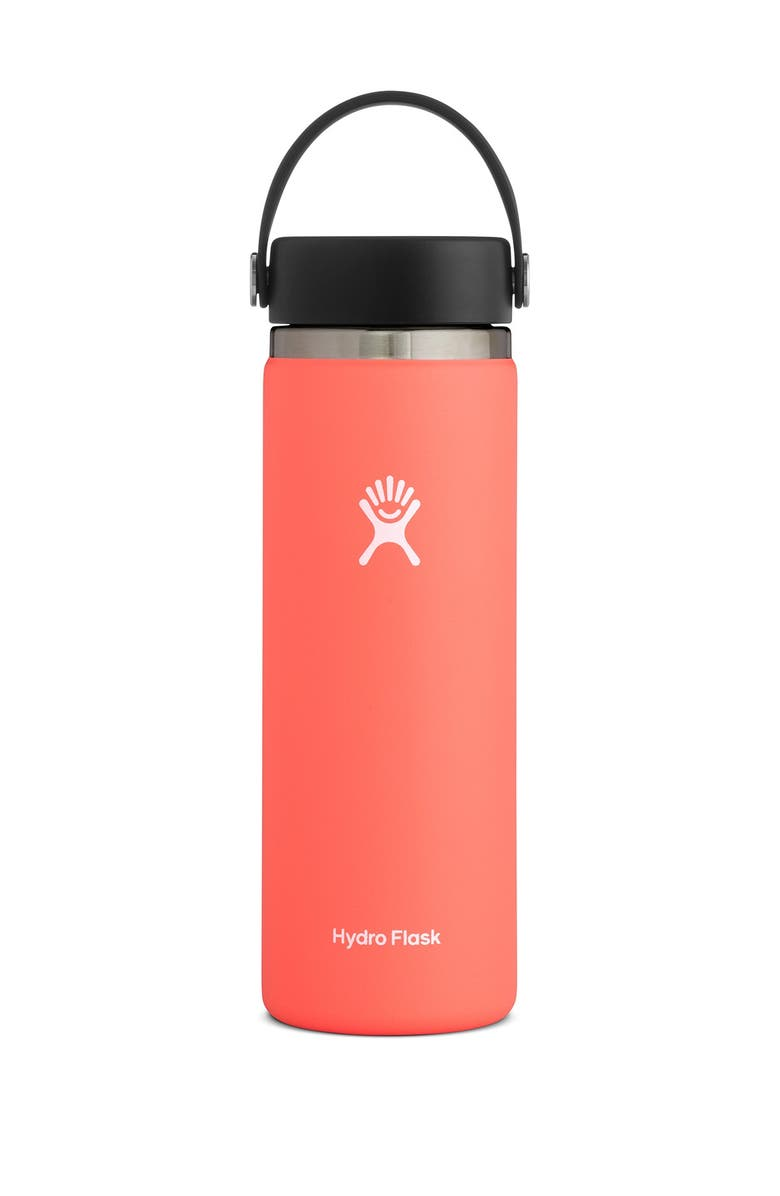 HYDRO FLASK 20 oz. Wide Flex Lid Hydro Flask - Hibiscus, Main, color, HIBISCUS