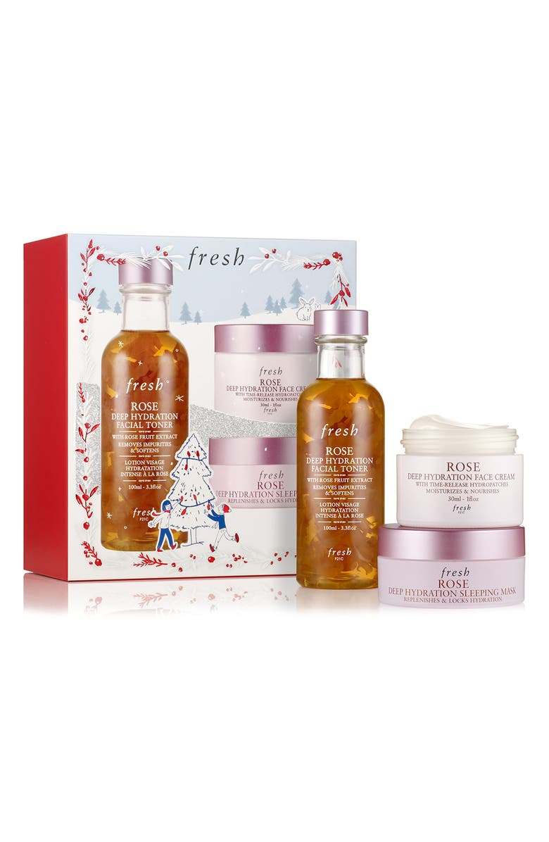 FRESH<SUP>®</SUP> Rose Day & Night Skin Care Hydration Set, Main, color, NO COLOR