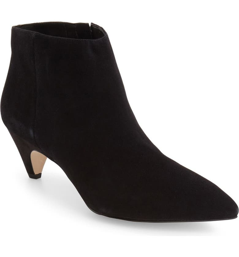 SAM EDELMAN 'Lucy' Pointy Toe Bootie, Main, color, 003