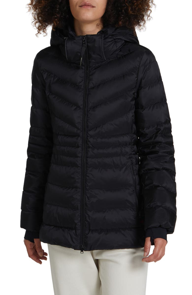 WOOLRICH Tech Windproof & Waterproof Hooded Puffer Jacket, Main, color, NO_COLOR