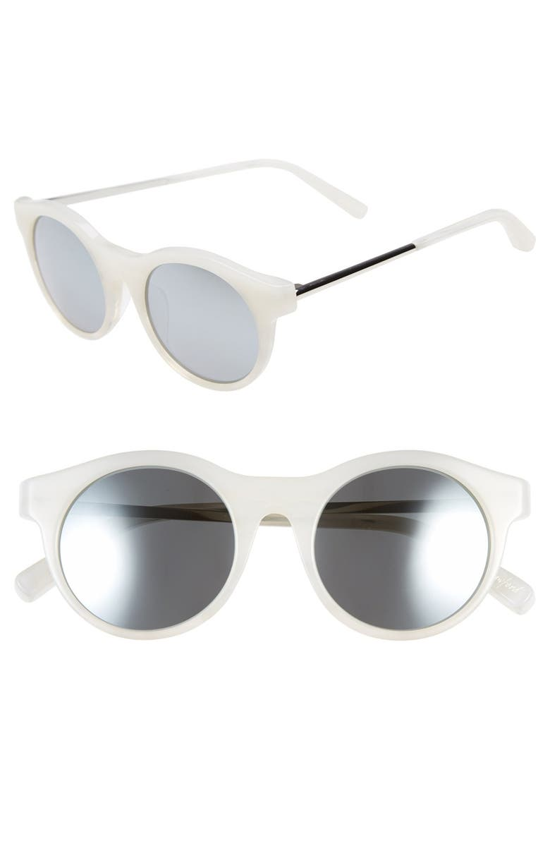 ELIZABETH AND JAMES 'Crawford' 50mm Sunglasses, Main, color, 100