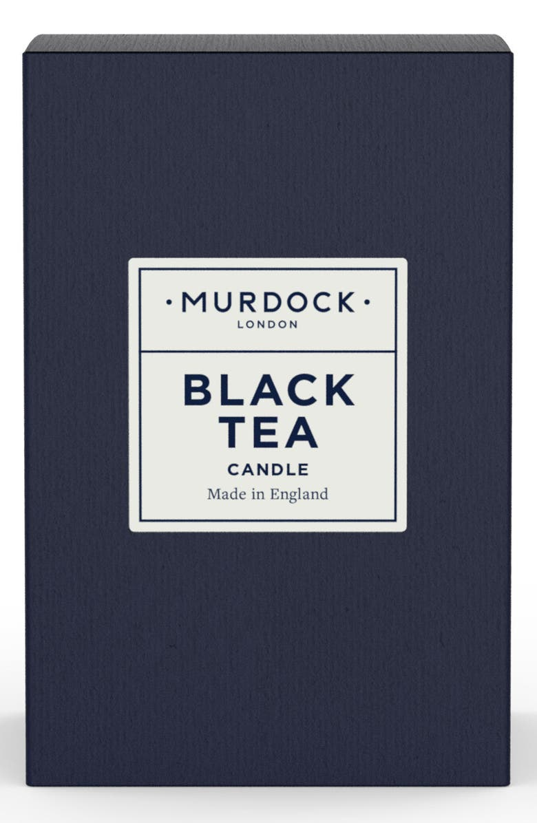 MURDOCK LONDON Black Tea Candle, Main, color, 000