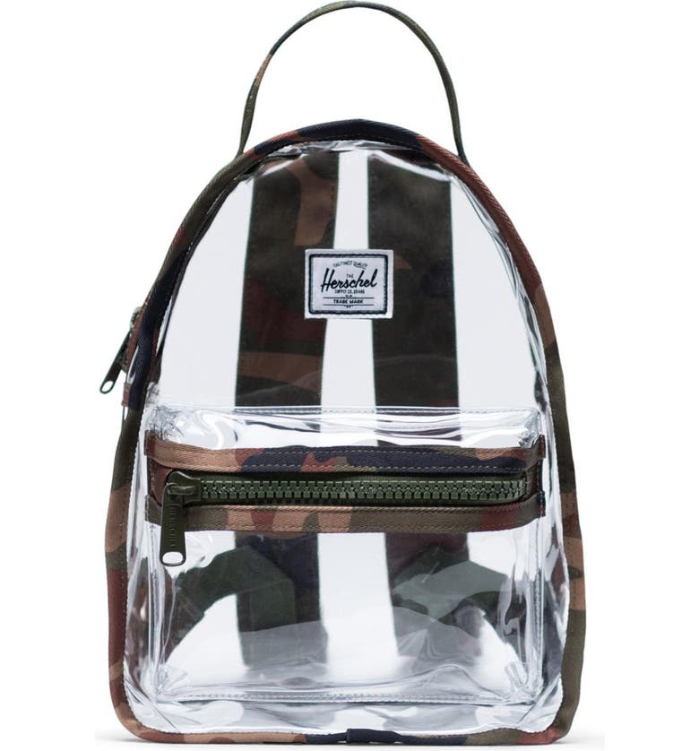 HERSCHEL SUPPLY CO. Mini Nova Clear Backpack, Main, color, 300
