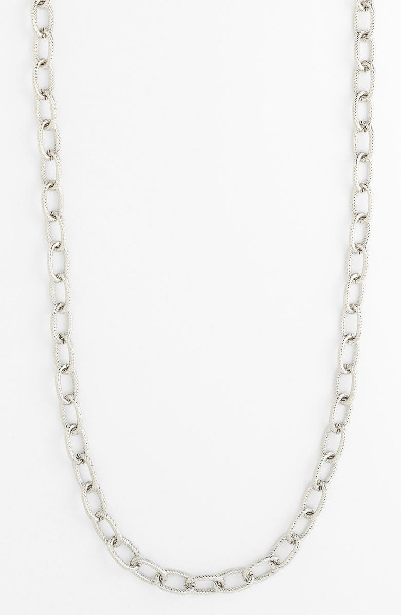 NORDSTROM Long Link Necklace, Main, color, 040