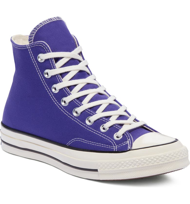 CONVERSE Chuck Taylor<sup>®</sup> All Star<sup>®</sup> 70 High Top Sneaker, Main, color, CANDY GRAPE/ BLACK/ EGRET