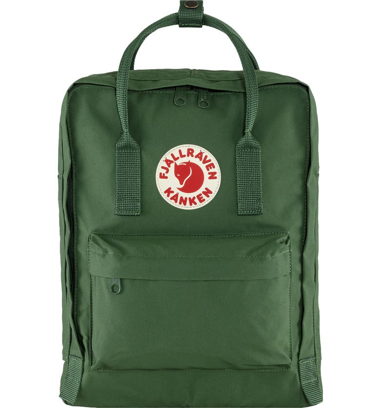 FJÄLLRÄVEN Kånken Water Resistant Backpack, Main, color, SPRUCE GREEN