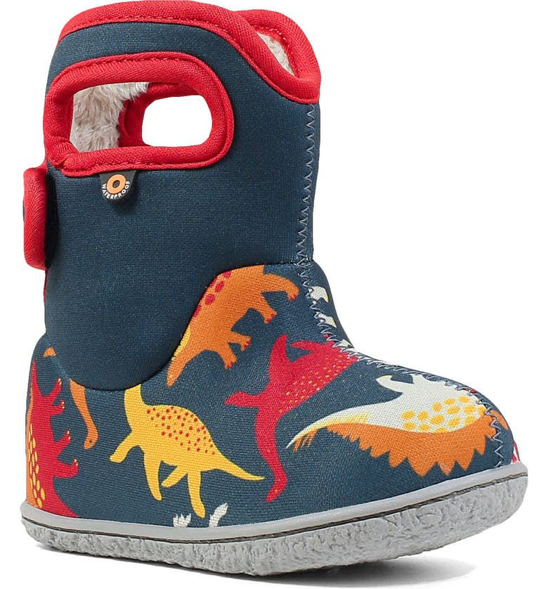 BOGS Baby Bogs Dino Insulated Waterproof Boot, Main, color, 409
