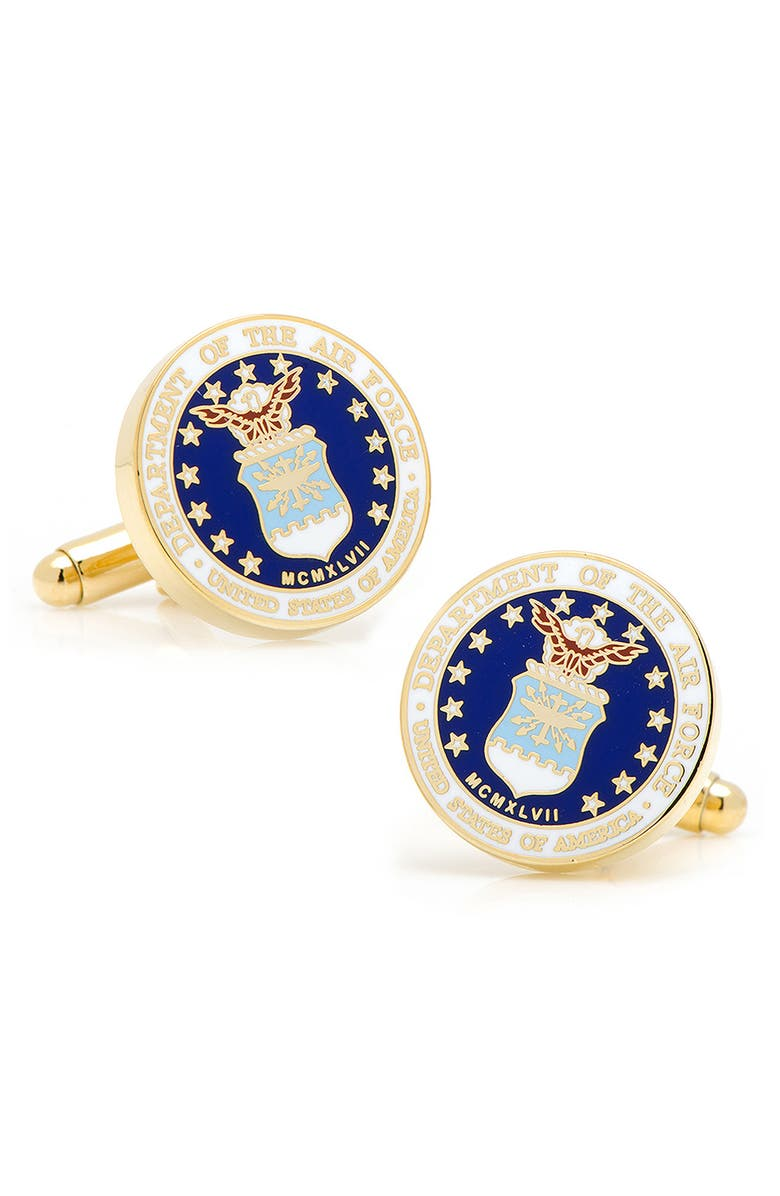 CUFFLINKS, INC. U.S. Air Force Cuff Links, Main, color, Blue