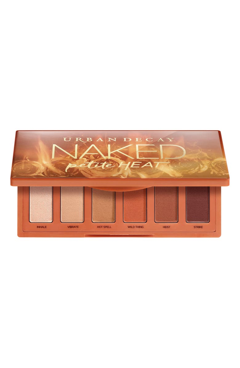 URBAN DECAY Naked Petite Heat Eyeshadow Palette, Main, color, No Color
