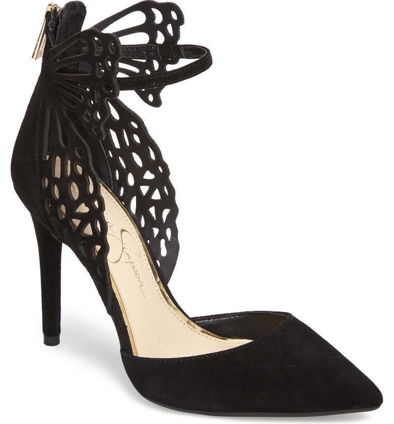 JESSICA SIMPSON Leasia Butterfly Pump, Main, color, 001
