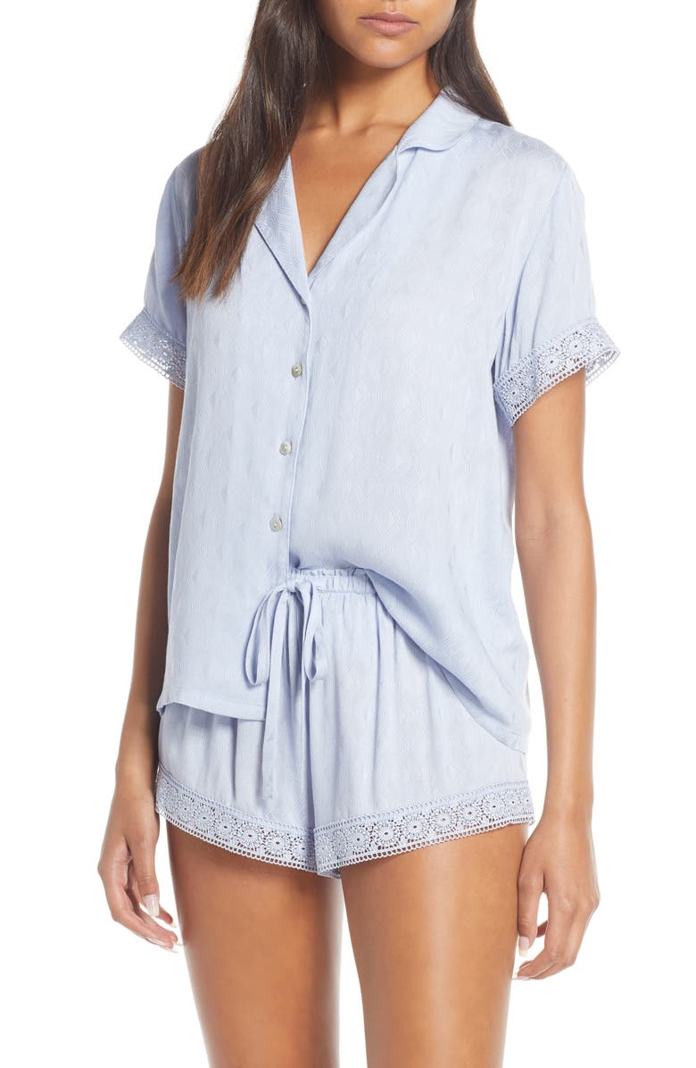 FLORA NIKROOZ Laurel Short Pajamas, Main, color, 400