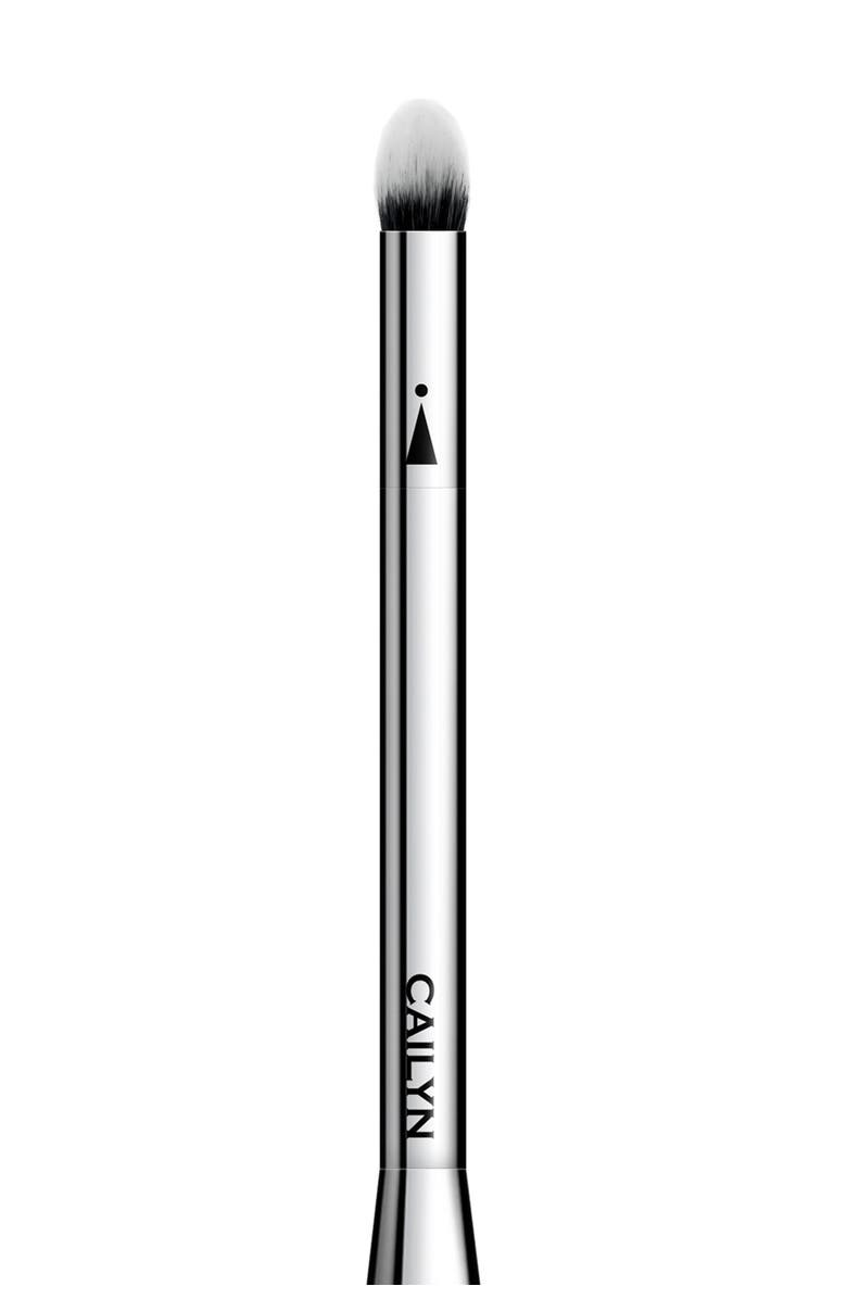 CAILYN iCone 09 Highlighter Brush, Main, color, BLACK / SILVER