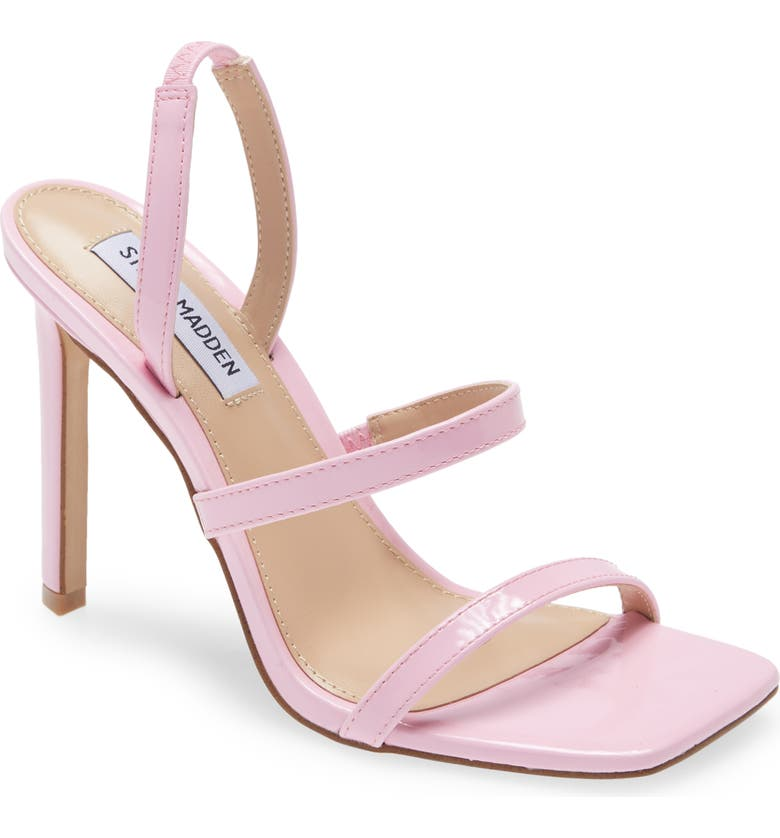 STEVE MADDEN Gracey Strappy Sandal, Main, color, PINK PATENT