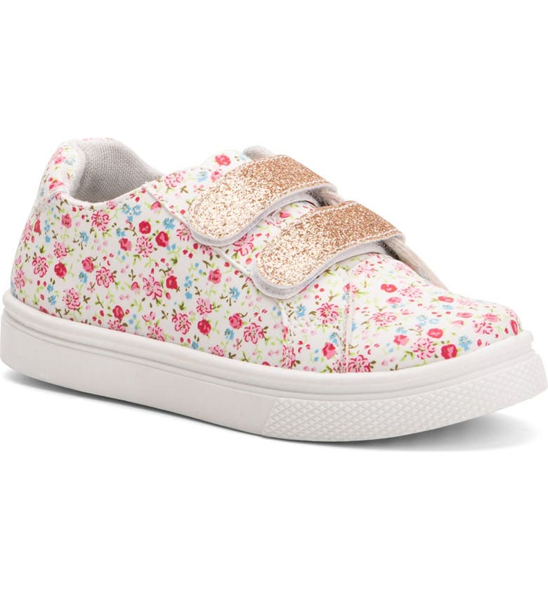 OLIVIA MILLER Butterfly Sneaker, Main, color, FLORAL
