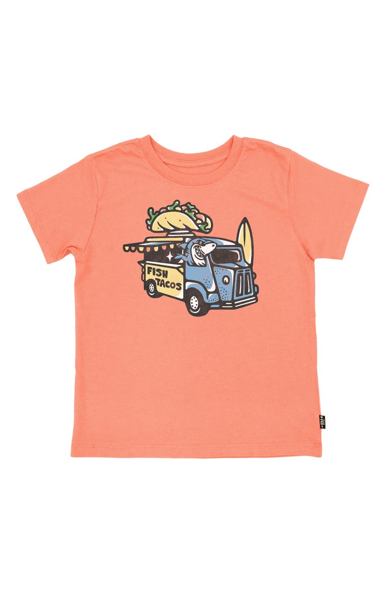 FEATHER 4 ARROW Fish Tacos Graphic Tee, Main, color, 820