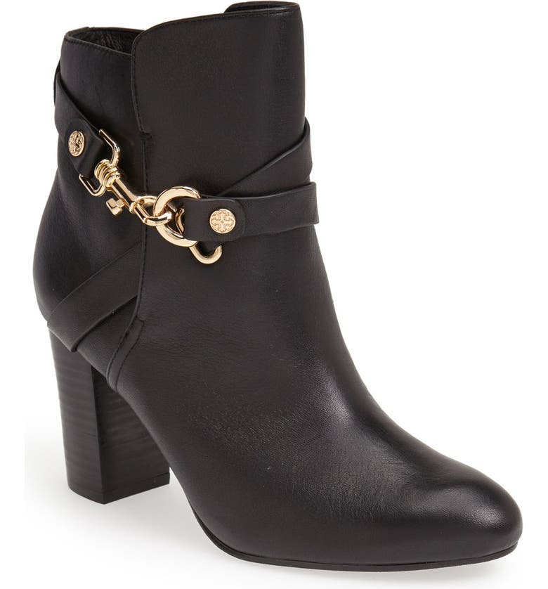 ISOLÁ 'Colleen' Leather Bootie, Main, color, Black