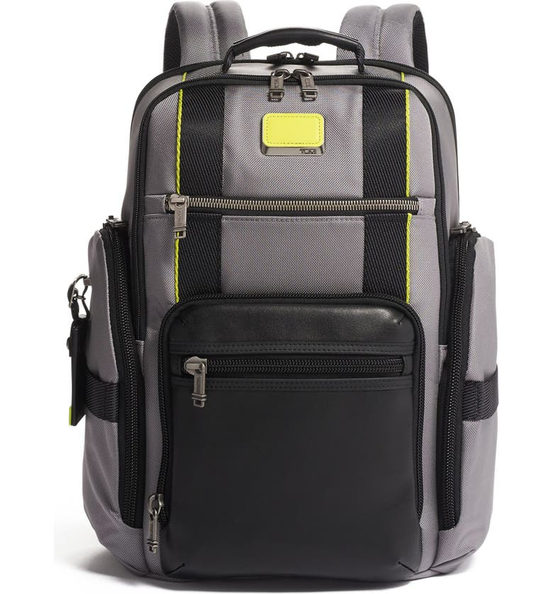 TUMI Alpha Bravo Sheppard Deluxe Backpack, Main, color, 020
