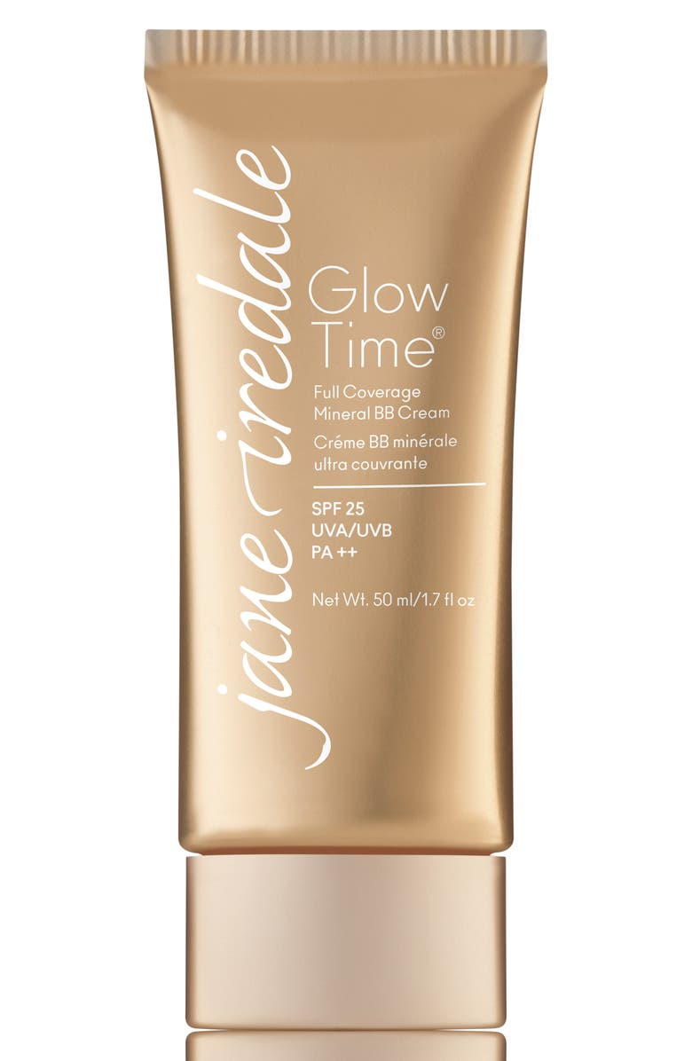 JANE IREDALE Glow Time Full Coverage Mineral BB Cream Broad Spectrum SPF 25, Main, color, BB1
