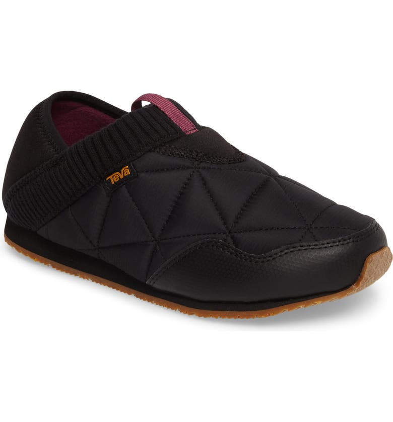 TEVA Ember Convertible Slip-On, Main, color, BLACK FABRIC