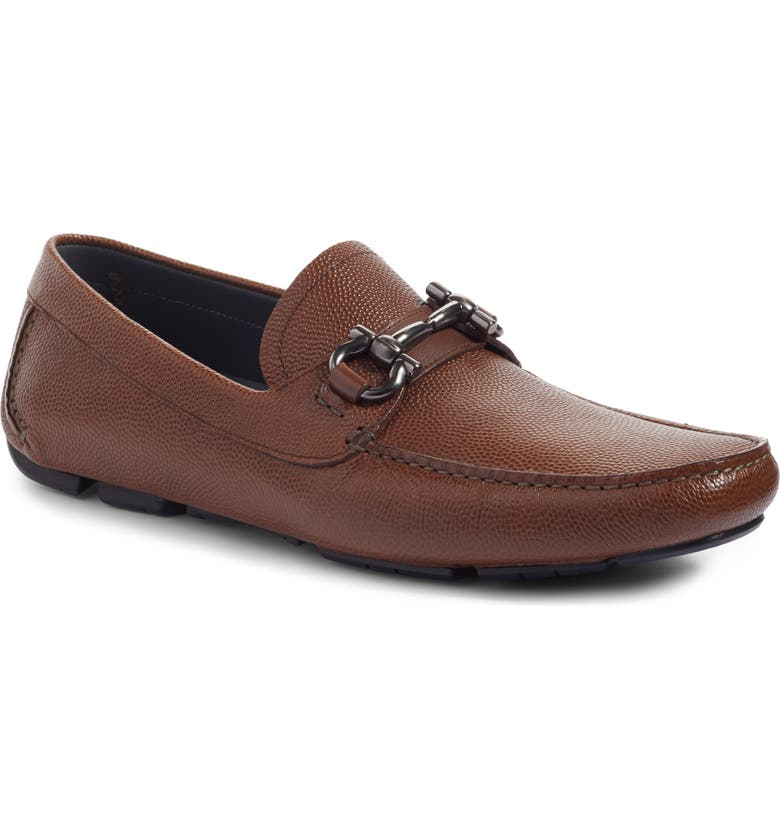 SALVATORE FERRAGAMO Parigi Bit Driving Moccasin, Main, color, RADICA LEATHER