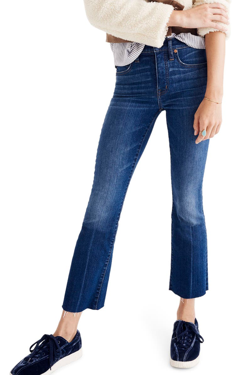 MADEWELL Cali Demi Boot Jeans, Main, color, WYOMING WASH