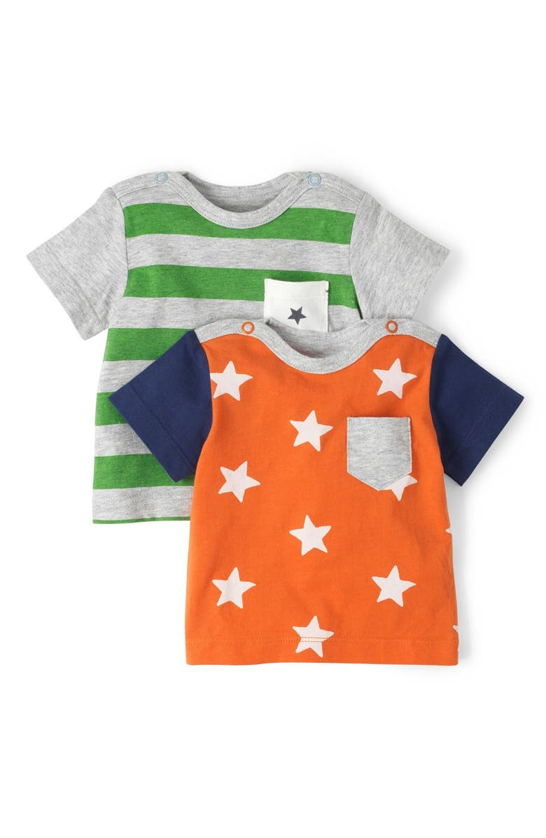 MINI BODEN 'Hotchpotch' Chest Pocket T-Shirts, Main, color, 315