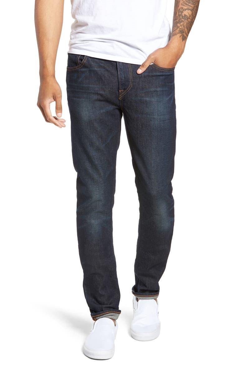 HUDSON JEANS Axl Skinny Fit Jeans, Main, color, 400