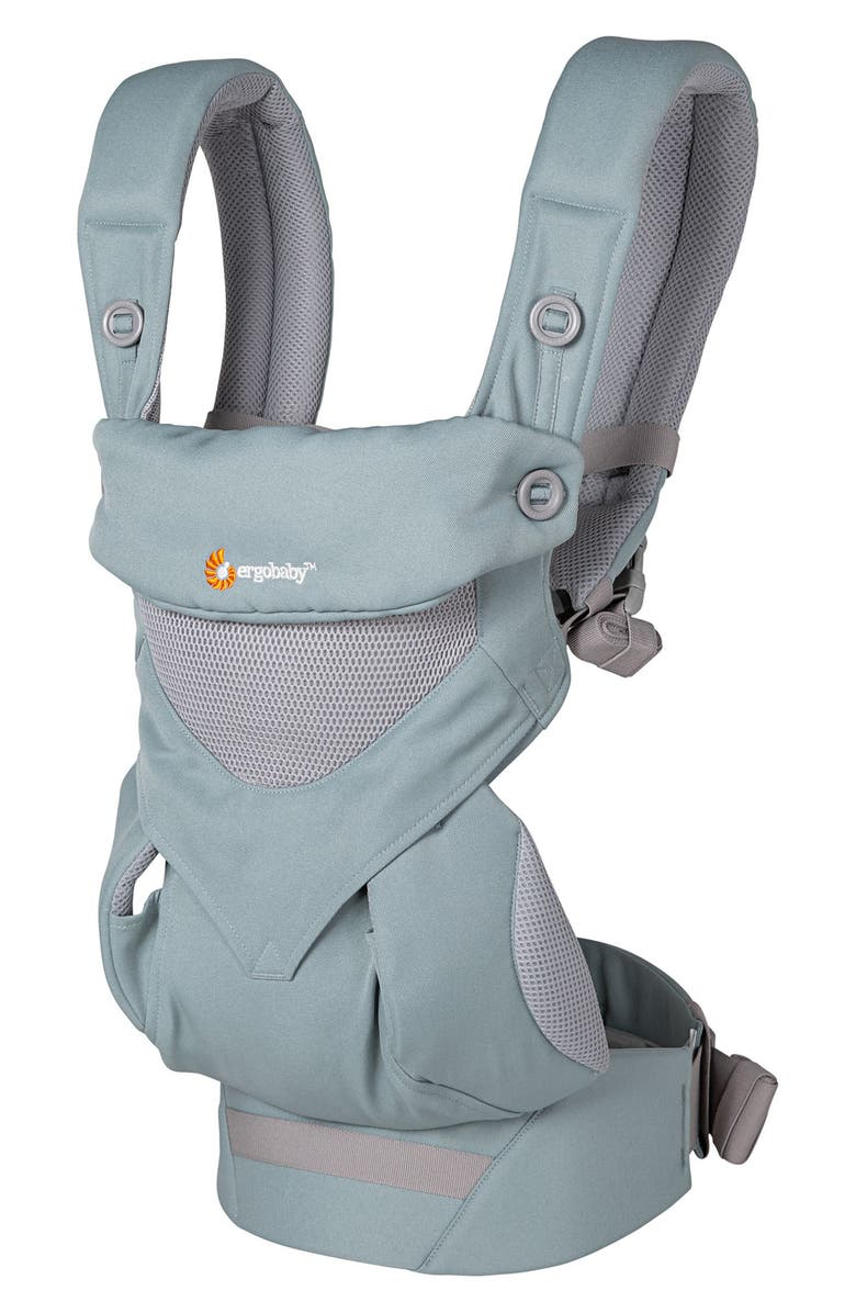 ERGOBABY Four Position 360 - Cool Air Baby Carrier, Main, color, SEA MIST