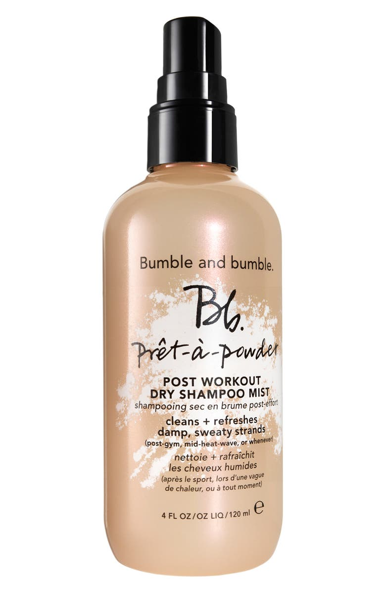BUMBLE AND BUMBLE. Post Workout Dry Shampoo Mist, Main, color, NO COLOR