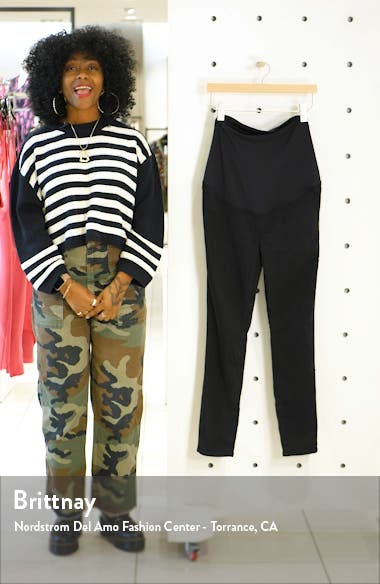 Over the Belly Maternity Skinny Jeans, sales video thumbnail
