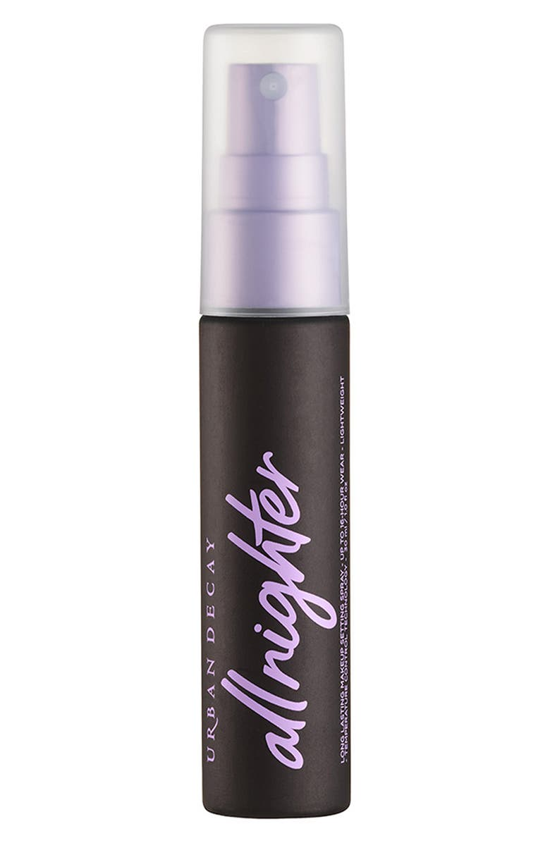 URBAN DECAY Travel Size All Nighter Long Lasting Makeup Setting Spray, Main, color, TRVL RLNCH