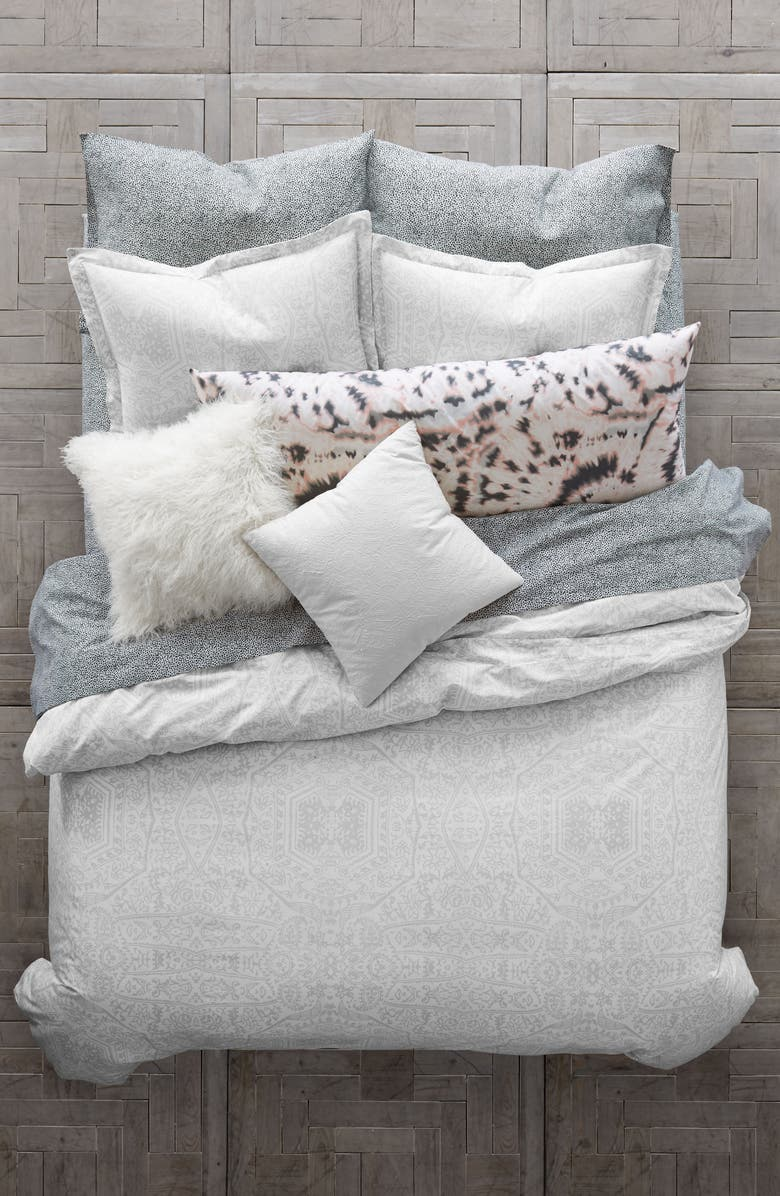 BCBGENERATION Chantilly Lace Comforter & Sham Set, Main, color, 100
